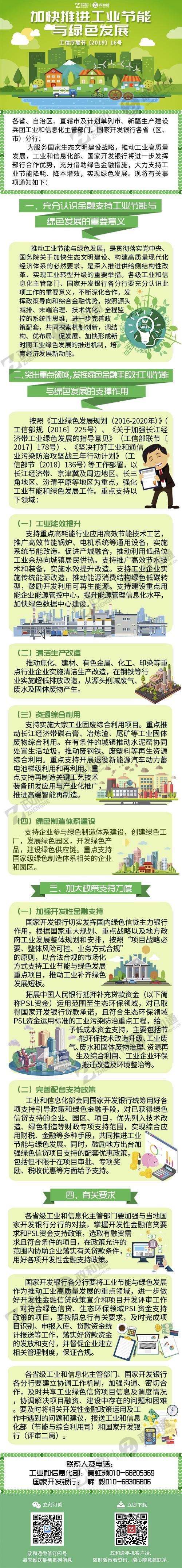 政和通 工信部辦公廳、國家開發銀行辦公廳發布加快推進工業節能與綠色發展的通知.jpg